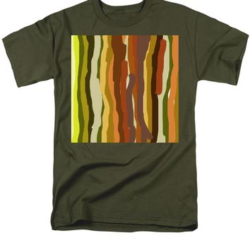 Ooh, You Are Awful ... But I Like You, Abstract Art By Adam Asar - Men's T-Shirt  (Regular Fit)