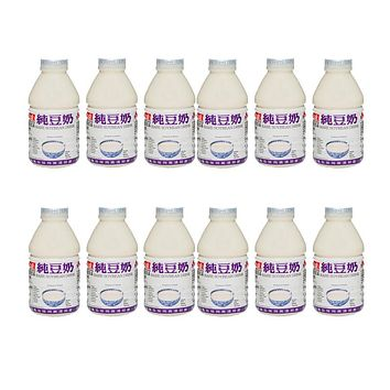 12 Pack Soy Milk from Taiwan, 12 x 11 fl oz (330 ml)