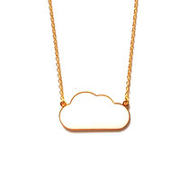 Cloud Necklace - White