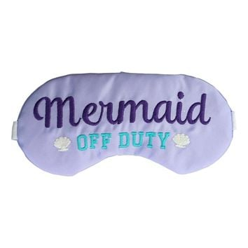 MERMAID OFF DUTY SLEEP MASK IN LAVENDER