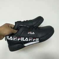 """FILA"" Men Casual Fashion Multicolor Letter Plate Shoes Sneakers"