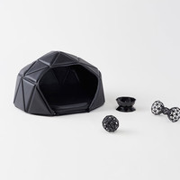 nendo throws one to the dogs with heads or tails accessories