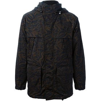 Moncler Gamme Rouge printed padded parka