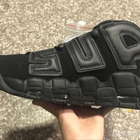 2017 Newest release air more uptempo SUPTEMPO mid gold black for Men's Basketball boots Scottie Pippen Shoes High Quality sneakers