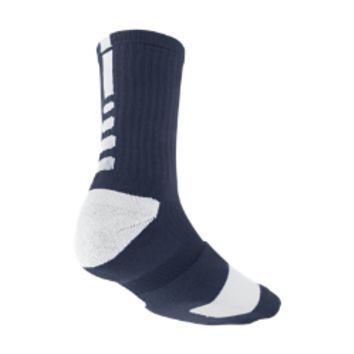 Nike Elite Crew Basketball Socks Medium/1 Pair - Midnight Navy
