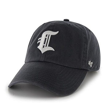'47 Brand Connecticut Tigers Navy Blue Clean Up Hat - NYPL/MLB UCONN Adjustable, One-Size Baseball Cap