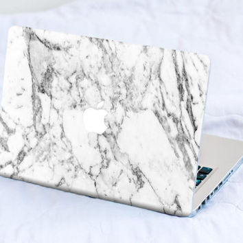 White Marble MacBook Decal Skin MacBook decal sticker MacBook Pro Retina Cover MacBook Air Acer Asus Dell Lenovo Chromebook