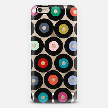 VINYL transparent iPhone 6s case by Sharon Turner | Casetify