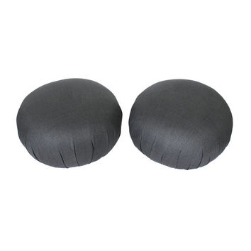 SALE Pair Directional Vladimir Kagan Pouf Ottomans