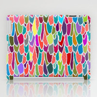 feather grid iPad Case by Sharon Turner | Society6