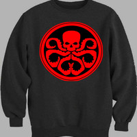 Captain America Hydra Logo Sweater for Mens Sweater and Womens Sweater *