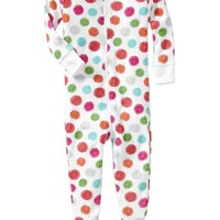 Printed Footed Sleepers for Baby