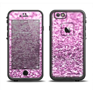 The Purple Glimmer Apple iPhone 6 LifeProof Fre Case Skin Set