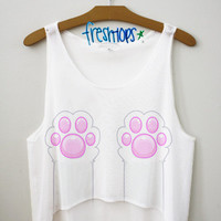 Paw Life Crop Top