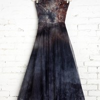 Rough And Tumble Vintage Goth Tie-Dye Dress - Urban Outfitters