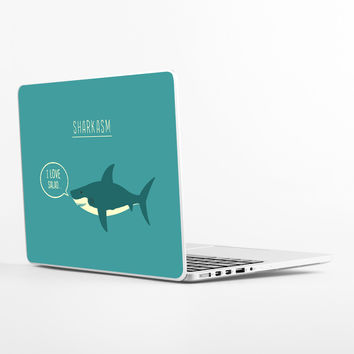 Sharkasm Laptop Skin