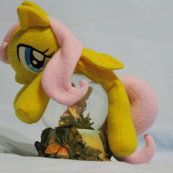 My Little Pony Friendship is Magic Fluttershy Super Kawaii Cuddle Plushie for MLP Plush Fans