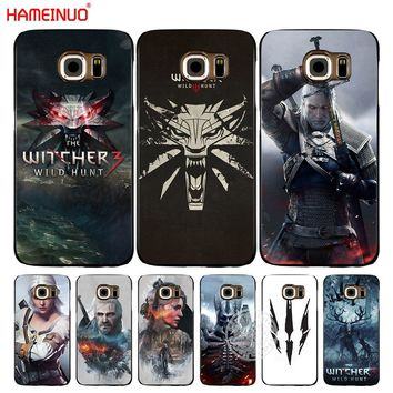 HAMEINUO The Witcher Wild Hunt cell phone case cover for Samsung Galaxy A3 A310 A5 A510 A7 A8 A9 2016 2017 2018