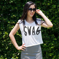 Hipster Crop Tops Graphic Print Shirt Tumblr TShirt Tops Womens Clothing