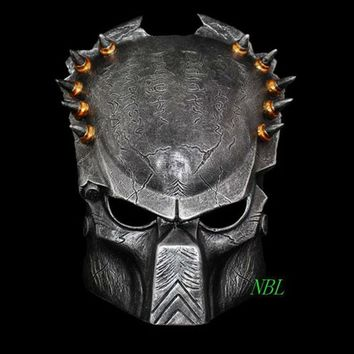 Bloodthirsty Lone Wolf Resin Masks Full Face The Movie Alien Vs Predator Theme Horror Masks Halloween Masquerade Party Costume