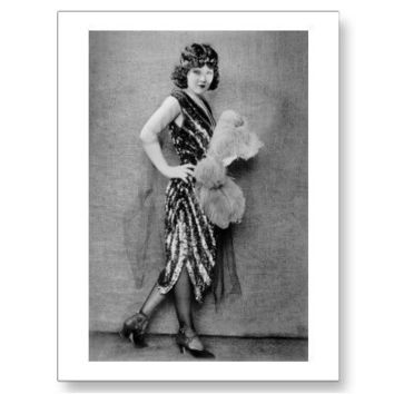 1920s Flapper Fashion Postcards from Zazzle.com