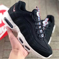 NIKE AIR MAX 95 string standard retro running shoes couple casual shoes F-AA-SDDSL-KHZHXMKH black