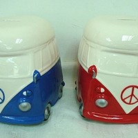 VW Peace Van Coin Piggy Banks