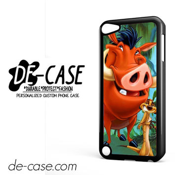 Timon And Pumba DEAL-11255 Apple Phonecase Cover For Ipod Touch 5