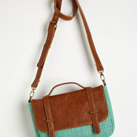 Case of the Spun Days Bag in Mint by ModCloth