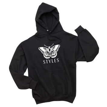 "Harry Styles ""Butterfly Tattoo / Styles"" Unisex Adult Hoodie Sweatshirt"