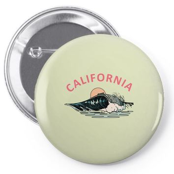 california Pin-back button