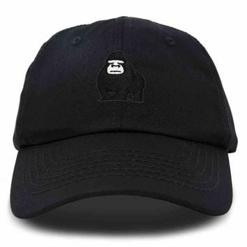 DALIX Gorilla Hat King of the Jungle Black Ape Baseball Cap