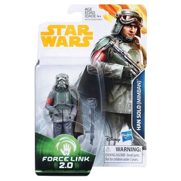 Han Solo Mimban Force Link 2.0 Solo A Star Wars Story 3.75 Inch Figure