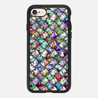 Patchwork Rainbow iPhone 7 Case by Alice Gosling | Casetify