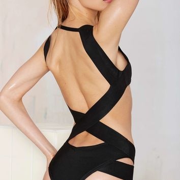 Nasty Gal La Destructa Swimsuit