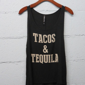 Tacos & Tequila - Pink Pineapple Shop
