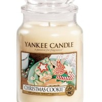 Yankee Candle Housewarmer Jar (Christmas Cookie) - Large (22 oz)