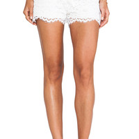 Alexis Martinique Lace Shorts in White