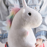 Smoko Stuffed Unicorn Glow Plushie | Urban Outfitters
