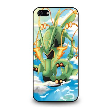 SHINY RAYQUAZA POKEMON iPhone 5 / 5S / SE Case Cover