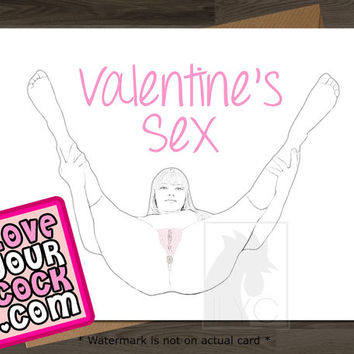 I Love Your Cock //Mature\\ Valentine Card Naughty Card Naughty Valentine Valentines Day Card Funny Valentine Card Anniversary Card Funny