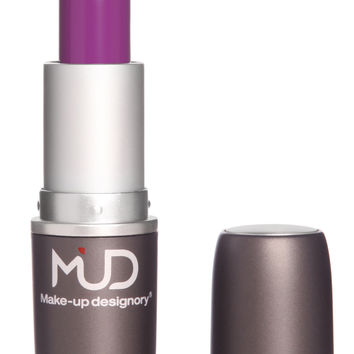Mud Satin Idol Lipstick with LA Fresh Makeup Remover