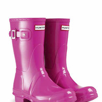 Original Short Gloss Rain Boots | Wellies | Hunter Boots US