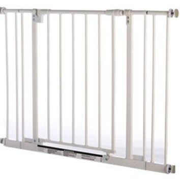 North States 4910S Supergate Easy Close Expandable Gate, Metal