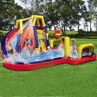 Inflatable Backyard Water Slides | Banzai Aqua Sports Inflatable Water Park - American Sale