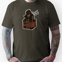 Metal Gear Solid in Amazon Box Unisex T-Shirt