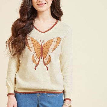Mariposa Merriment Sweater