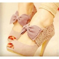 Bows on your toes