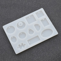 COCOTINA 12 Designs Cabochon Silicon Mold Mould For Epoxy Resin Jewelry Making DIY Craft D01241
