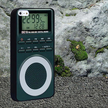 Portable Pocket Radio Case for iPhone 4/4s,iPhone 5/5s/5c,Samsung Galaxy S3/s4 plastic & Rubber case, iPhone Cover